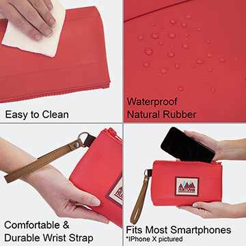 Small Zipper Pouch Details