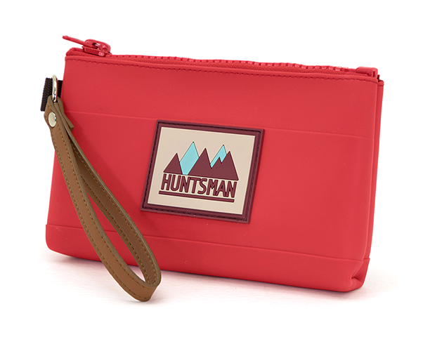 Red Small Zipper Pouch